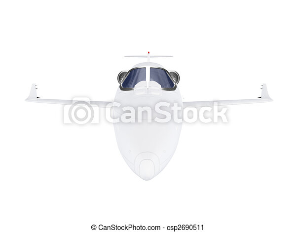 Jet Airplane - csp2690511