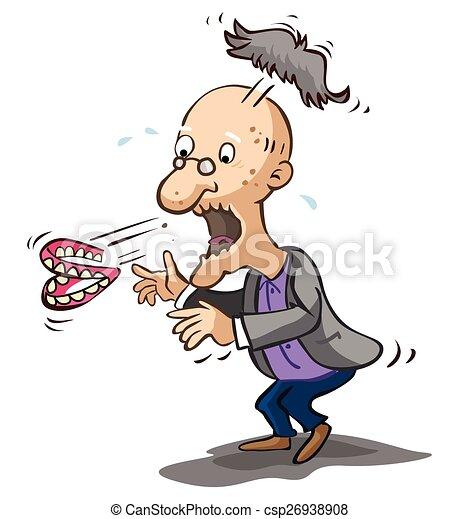 vektor clipart von altes  schockiert  mann altes  mann  schockiert csp26938908 suchen sie harley clip art logo harley clip art flames