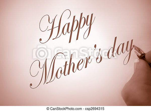 Happy Mother\'s day - csp2694315