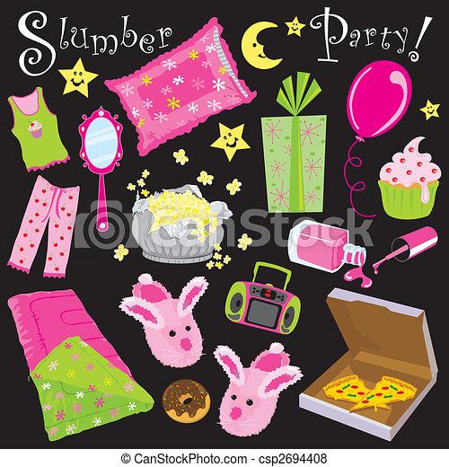 Slumber Party - csp2694408