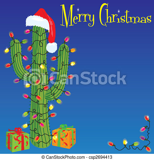 Christmas cactus - csp2694413