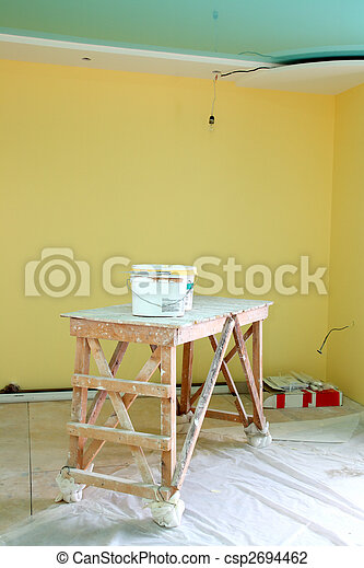 home interior renovation - csp2694462