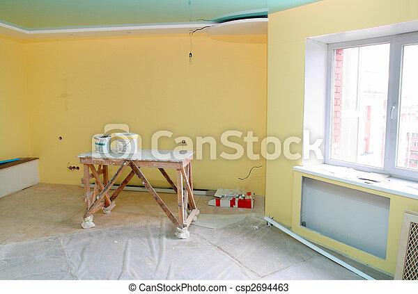 home interior renovation - csp2694463