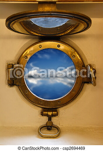 nautical porthole - csp2694469