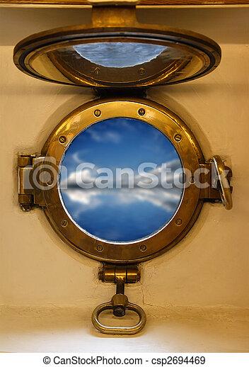 nautical porthole - csp2694469