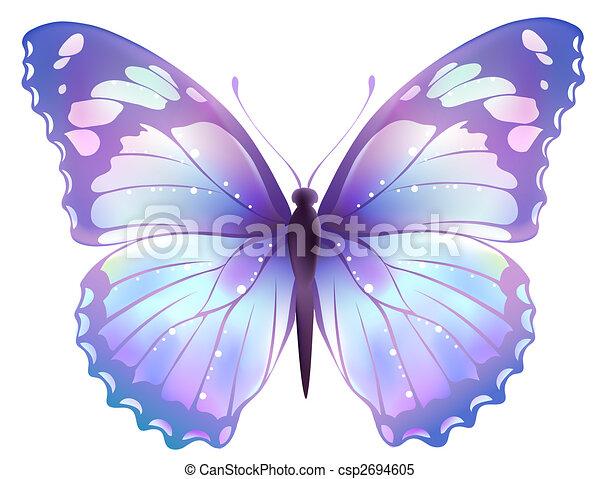 Illustrations de papillon dessin de beau couleur papillon dans a csp2694605 - Papillon dessin couleur ...