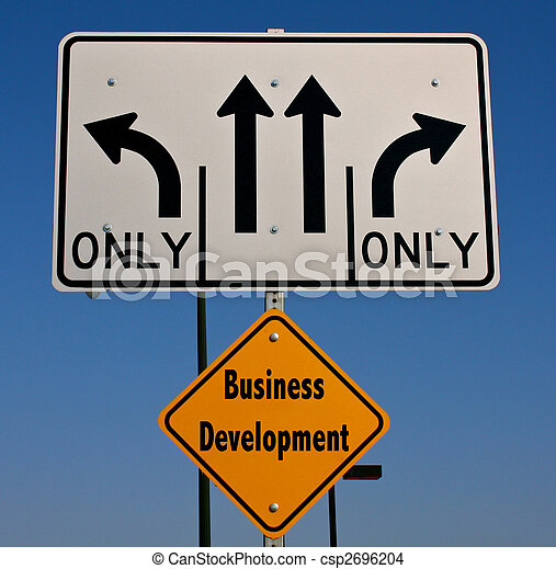 Business Development Sign - csp2696204