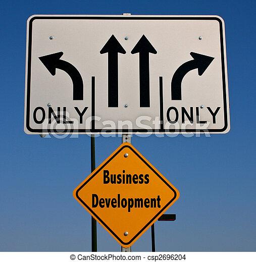 Business Development Sign - csp2696204