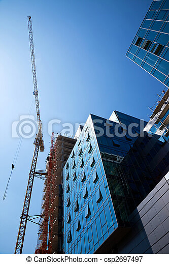 construction office building - csp2697497