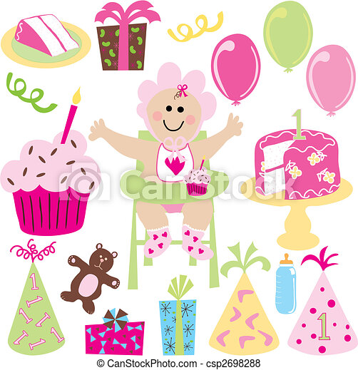 Baby girl party - csp2698288