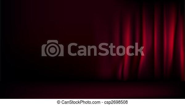 Stage curtain - csp2698508