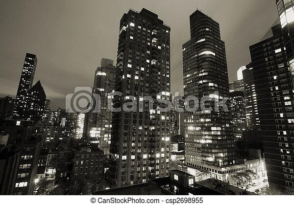 cidade nova iorque - csp2698955