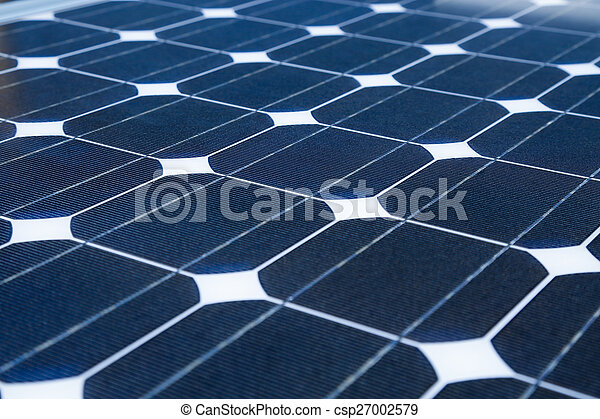 Solar cell generated electrical