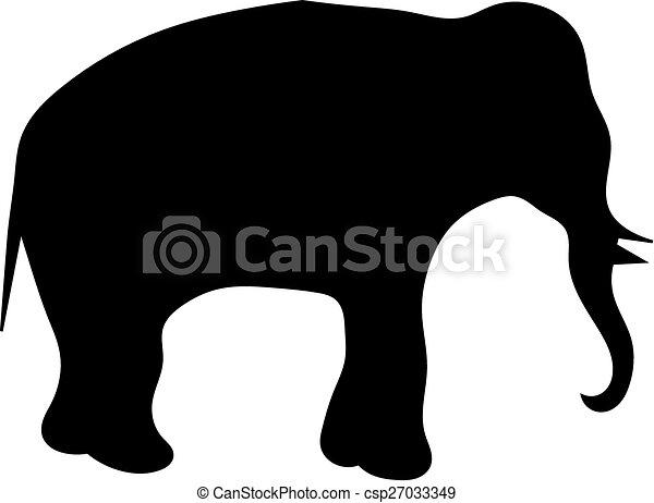 A elephant - csp27033349