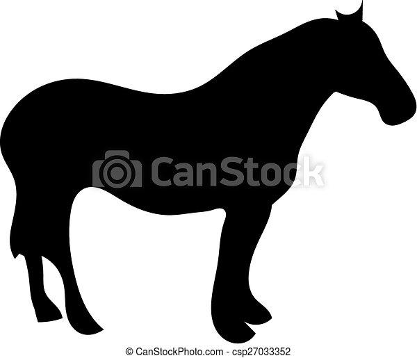 Horse - csp27033352