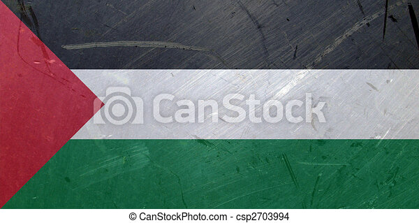 Flag of Palestine - csp2703994