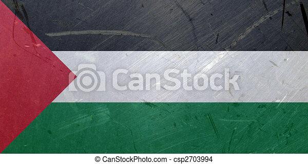 Flag of Palestine - csp2703994