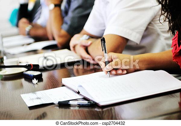 business meeting  - csp2704432