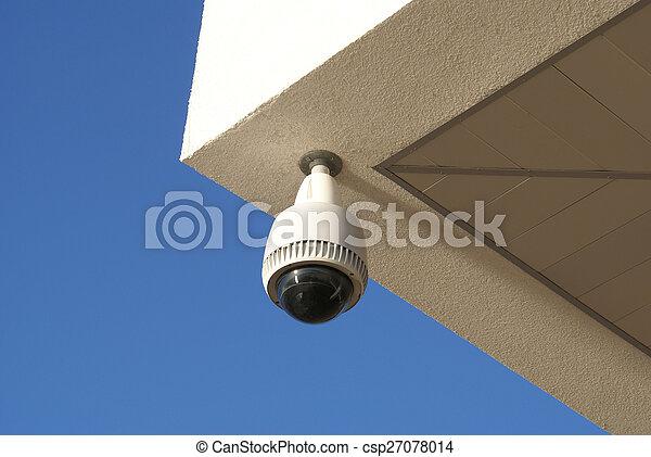 sicurezza, macchina fotografica - csp27078014
