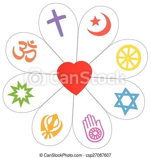 clipart vecteur de religions  symbole  paix  fleur  coeur christian clip arts free christian clipart images