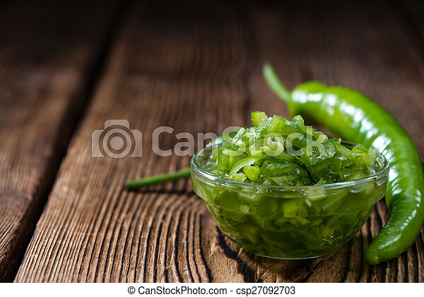 Preserved Green Chilis - csp27092703