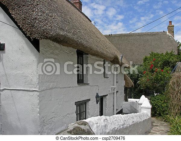 Cadgwith, Lizard Peninsula, Cornwall - csp2709476