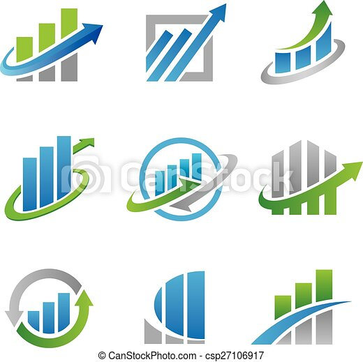 stock logos and icons - csp27106917