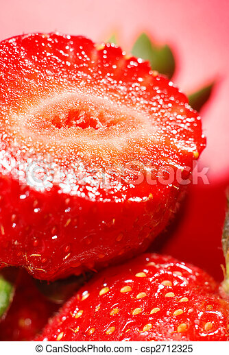 Fresh and tasty strawberry - csp2712325