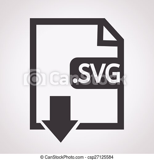 Formaat,  svg, beeld, bestand,  type, pictogram - csp27125584