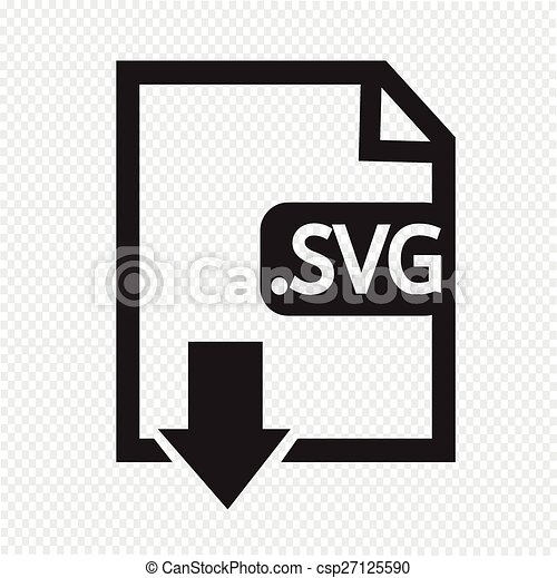 Formaat,  svg, beeld, bestand,  type, pictogram - csp27125590
