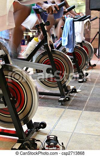 fitness spinning bike - csp2713868