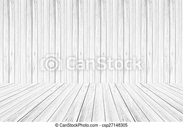 Wood wall and terrace texture Soft tone White color