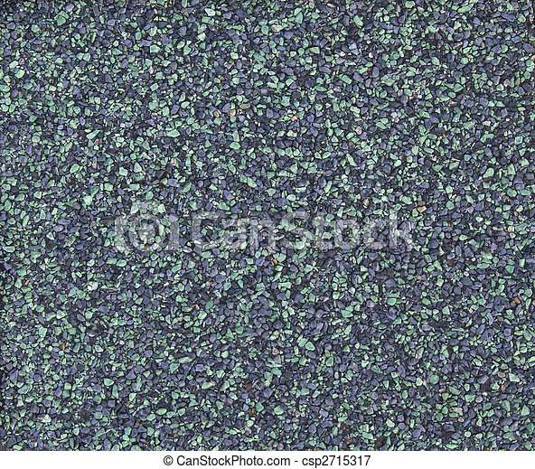 Green Asphalt Shingle - csp2715317