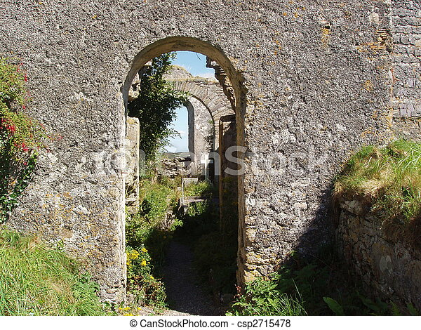 Stone Archway - csp2715478