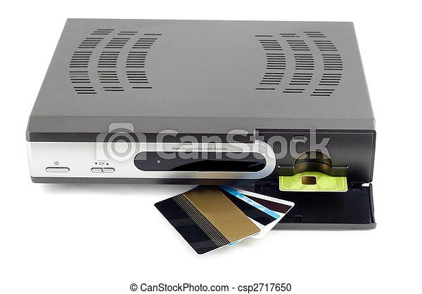 digital broadcasting cable receiver - csp2717650