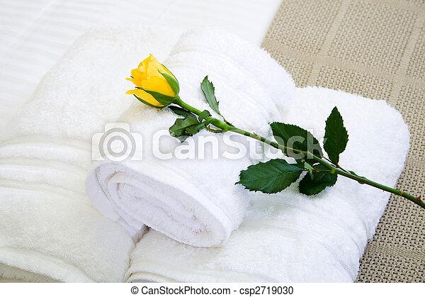 hotel towel - csp2719030