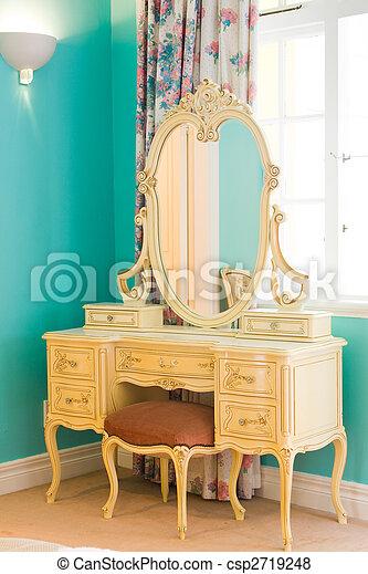 antique dresser - csp2719248
