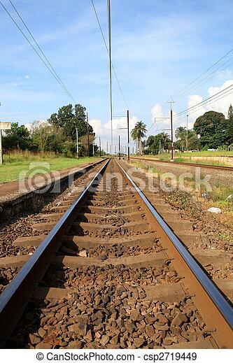 train tracks - csp2719449