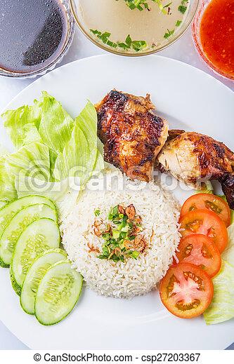 Nasi Ayam Or Chicken Rice
