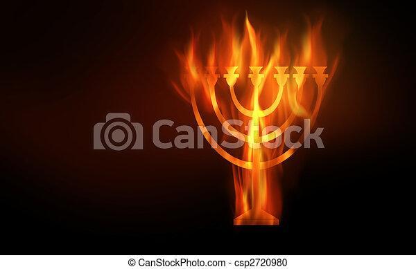 Hanukkah - csp2720980
