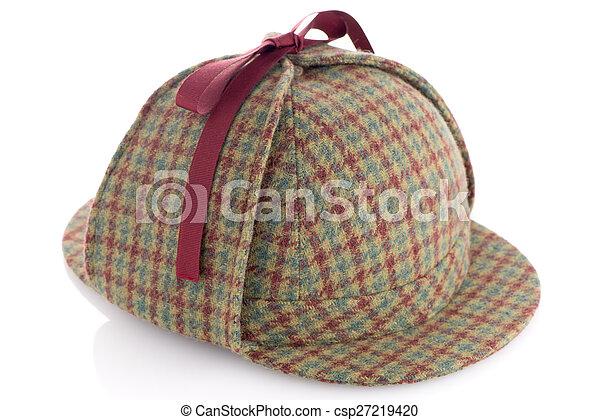 British Deerhunter or Sherlock Holmes cap - csp27219420