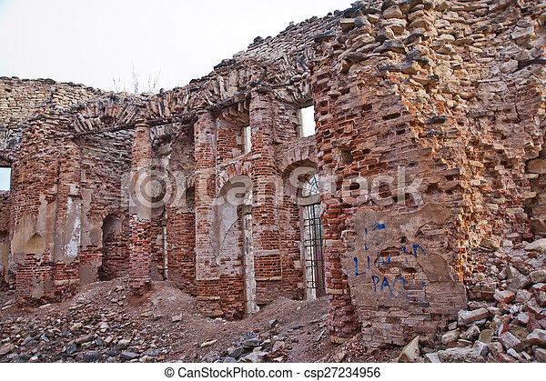 Images de mur d truit pierre texture propri t the cinqui me csp27234956 - Mur en limite de propriete droit ...