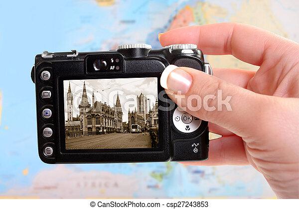 Ghent Belgium - csp27243853