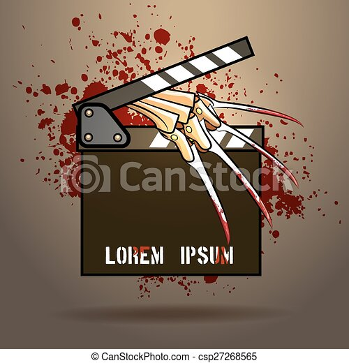 Horror movie Illustrations and Clip Art. 798 Horror movie royalty ...