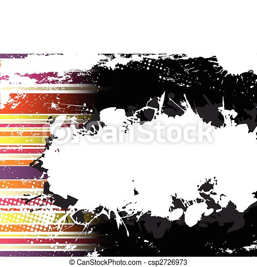 Abstract Grunge Stripe Background - csp2726973