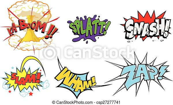 Comic Pictures Without Words Comic Action Words