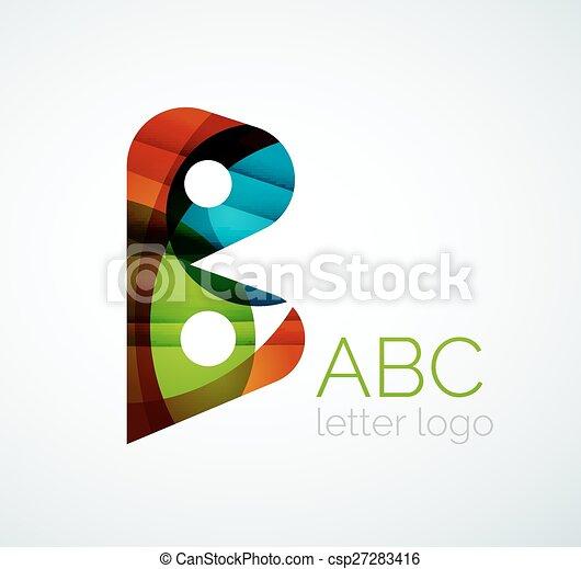 Vector letter logo - csp27283416