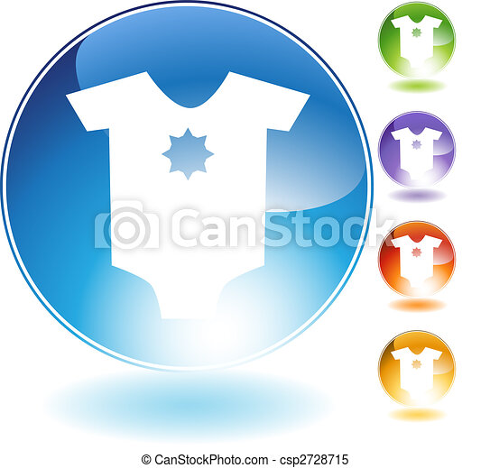 Infant Bodysuit Crytsal Icon - csp2728715