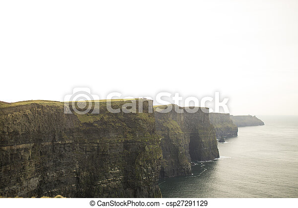 Cliffs of Moher in County Clare, Ireland - csp27291129