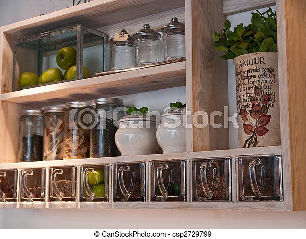 Banque de photographies de beau classique tag res - Etagere a epice cuisine ...